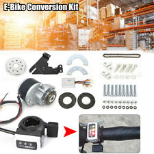 Kit di conversione E-Bike Kit Thumb Kit 24V 350W Motore spazzolato NUOVO