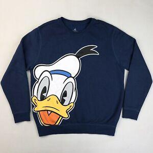 Disney Parks Donald Duck Jumper Womens Size Medium