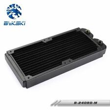 Bykski TN 240 Slimline Double 240mm Full Copper 16 FPI Watercooling Radiator