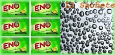12 Sachets ENO Fruit Salt Relieves Acidity Stomach Gas Lemon Flavour-Exp 09/2019