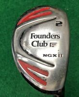 Founders Club NGX II 2 Hybrid  /  RH  /  Regular Graphite  / NEW GRIP / mm2657