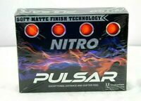 Nitro Pulsar 12 Orange Golf Balls- New Sealed Package