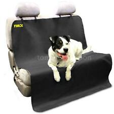 Pet/Cat/Dog Seat Cover Waterproof Black Mat Car Back Seat Cover Bench A6C4