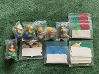 Vintage 1990 Simpson's Gone Camping Burger King Kids Meal Toy Lot New