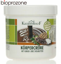 Krauterhof Body Cream Cocoa And Shea Butter 250ml Anti-stretch Marks And Scars
