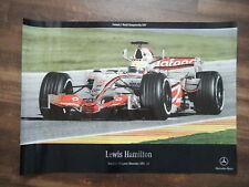 Lewis Hamilton Vodafone McLaren Mercedes MP 4-22; formula 1 World Champion 2007