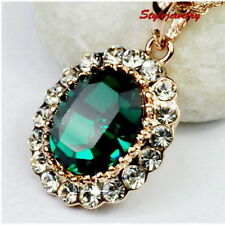 Alloy Crystal Rose Gold Filled Fashion Necklaces & Pendants