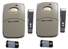 Multi Code Gate Opener Garage Remote Control Clicker Transmitter 300 Mhz 308911