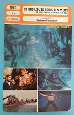 Walt Disney Adventure Film 20000 Leagues Under The Sea  French Trade Card