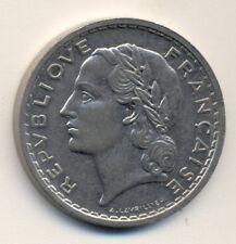 FRANCE 5 francs, 1937, XF