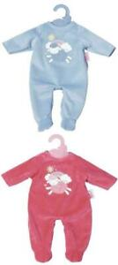 Baby Annabell Little Velour Soft Romper 36cm Doll Outfit with Hanger