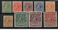 Falkland Islands 1912-20 values to 10s MLH/MH