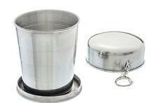 8.5oz/250ml Stainless Steel Portable Collapsible Travel Picnic Camping Water Cup