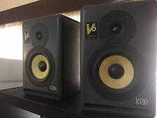 KRK V6 Powered Studio monitors Speakers