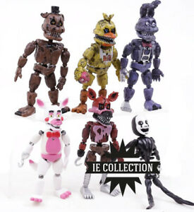 Five Nights At Freddy's Set 6 Nightmare Action Figure Figuren Foxy