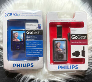 NEW Philips GoGear 2 GB Digital Audio Video Player MP3 & Move Pack SA3020 PAC017