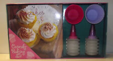 Cupcake Baking Set With Recipe Book.  Super Recipes For All To Enjoy!
