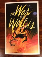 "War Of The Worlds Mini Art Print 9"" X 6"""