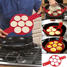 Non Stick Flippin' Fantastic Nonstick Pancake Maker Egg Ring Maker Kitchen Hot