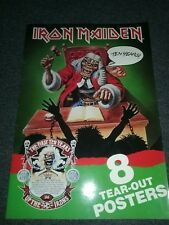 Iron Maiden The First Ten Years 8 Posters