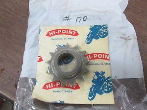 Vintage NOS Penton KTM Hi-Point 13T Front Countershaft Sprocket #170 # 170