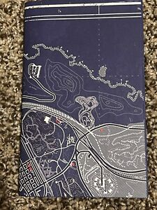 Official Grand Theft Auto V Blue Print Map Poster