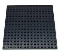 Lego New Black Plate 16 x 16 Stud 5 x 5 Inch Piece