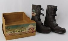 1950's Gene Autry Children's Western Cowboy Boots by Graham Brown CIB Never Worn