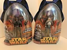 STAR WARS REVENGE OF THE SITH CLONE PILOTS - BLACK & WHITE GREY Variants III-34