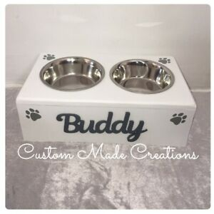 personalised dog bowl Water And Food Feeding Station