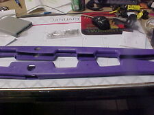 NOS NEW Arctic Cat Snowmobile SIDE SKI SKINS Purple Made by Holeshot