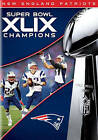 Factory Sealed NFL New England Patriots Super Bowl Champions XLIX DVD