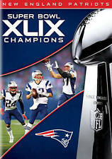 Factory Sealed NFL New England Patriots Super Bowl Champions XLIX DVD
