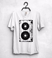 Cassette T Shirt Oldschool Tape 70s 80s 90s Vintage Retro Music Nirvana Rock