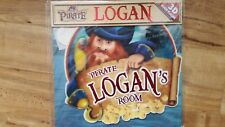 LARGE PERSONALISED NAME PIRATES 3D DOOR PLAQUE BOYS NAME LOGAN