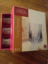 Cristal d'Arques Longchamp bicchierini liquore 5cl  originale vintagecon marchi