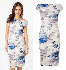 PHASE EIGHT BNWT Cindy Crush Summer Occasion Bodycon Pencil Cocktail Dress 14