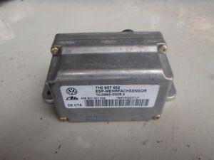 Porsche Cayenne S 955 2006 Yaw Rate Sensor Control Unit 7H0907652 J084