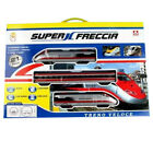 Model Train Fast Super Freccia IN Scale 1/87 21636 Batteries With Lights Sounds