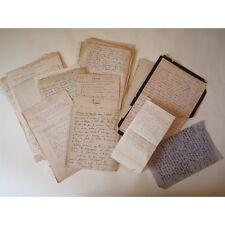 ENSEMBLE de PRIÈRES, BROUILLONS de SERMONS, NOTES MANUSCRITS, A ETUDIER