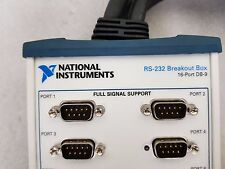 NATIONAL INSTRUMENTS RS-232 Breakout Box 16-port DB-9