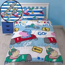 Ropa de cama multicolor para niños, peppa pig