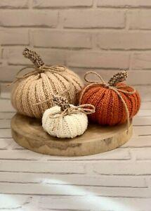 Knitting Pattern - Pumpkins