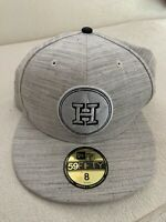 Houston Astros New Era Team Out Heathered Gray 59FIFTY Hat 5950 Cap Size 8 NEW