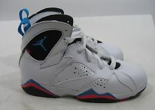 "air jordan 7 retro (ps) · ""orion 304773 105 white/orion-blue infrared Size. 13 C"