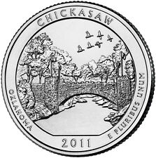 QUARTER DOLLAR DES ETATS-UNIS 2011 P - CHICKASAW NATIONAL RECREATION AREA