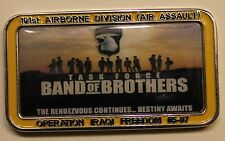 101st Airborne Oif 05-07 Mgen Commander Band of Brothers Army Challenge Coin