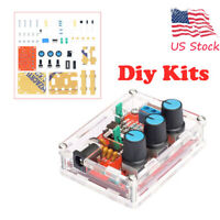 New XR2206 Function Signal Generator DIY Kit Sine Output 1HZ-1MHZ+acrylic case