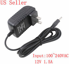 12V AC Wall Charger Home Power Supply Adapter for Acer Iconia Tab A100 A200 A500