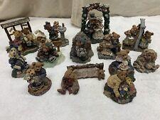 Lot of (13)Mixed Boyds Bears Figurines - Bearstone - Folkstone